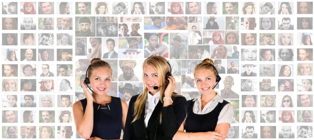 call handling service dealing with demanding clients
